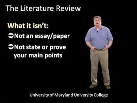 How to do a literature review matrix